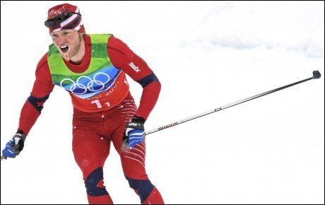 NEST BEST: Martin Johnsrud Sundby ble nummer 15 på femmila. Foto: Bjørn S. Delebekk, VG