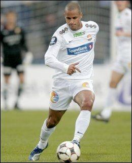 TIL DANMARK: Det tok tid, men Christer George fant seg til slutt en ny klubb på nivå to i Danmark. Foto: Scanpix