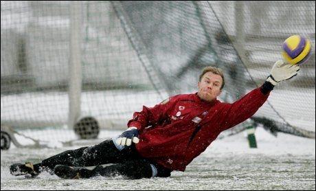 FERDIG: Øyvind Bolthof synes det er helt ok å slippe vintertreningene med Vålerenga. Foto: Scanpix