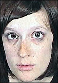 PÅGREPET: Jessie Canfield ble pågrepet bare timer etter at hennes nyfødte datter ble funnet død i en søppelbøtte. Foto: AP