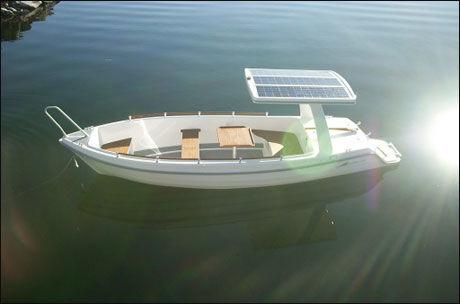 GRØNN BØLGE: Greenwave er et alternativ til mer miljøvennlig båtliv, uten eksos. Foto: Produsent