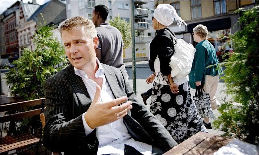 VELDFERDSBREMS: Fremskrittspartiets innvandringspolitiske talsmann, Per-Willy Amundsen, mener innvandrere vil bli bedre integrert i det norske samfunnet uten krav på kontantstøtte. Foto: Linn Cathrin Olsen
