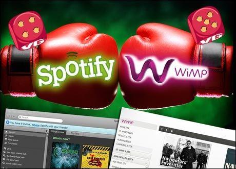 Spotify begynner endelig å få konkurranse. Norsk Wimp imponerer på flere områder. (Illustrasjon: Kirsti Østvang/iStockphoto)