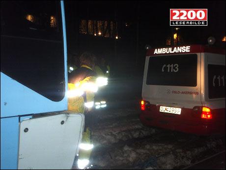 INNRØMMET: 27-åringen innrømmet at han hadde stjålet begge de to ambulansene i avhør. Foto: VG Nett-tipser
