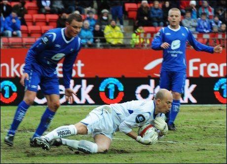 STORSPILTE: Per Morten Kristiansen holdt nullen på Brann stadion. Foto: Scanpix