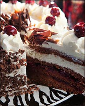 KAKE-BY: intet wienerbesøk uten å smake på cafeenes søtsaker. Foto: Magnar Kirknes
