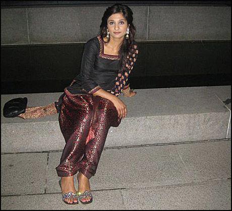 DREPT: Faiza Ashraf (26) ble funnet drept i turområdet på Solli i Asker. Foto: Privat