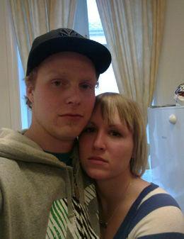 Stian Lande og Elise Andreassen fikk seg en flytur de sent vil glemme. Foto: Privat