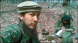DREPT: Aleksandr Tikhomirov skiftet navn til Said Burjatskij da han konverterte. I den kaukasiske mujahedin var han kjent som Sheikh Sayeed al-Buryati. Nå omtales han som martyr. Foto: KAVKAZ CENTER