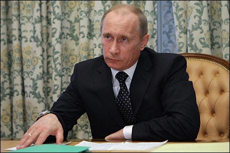 JERNMANNEN: Bombeangrepene i Moskva knuste statsminister Vladimir Putins påstand om at opprørene i Kaukasus er slått ned. Foto: AP