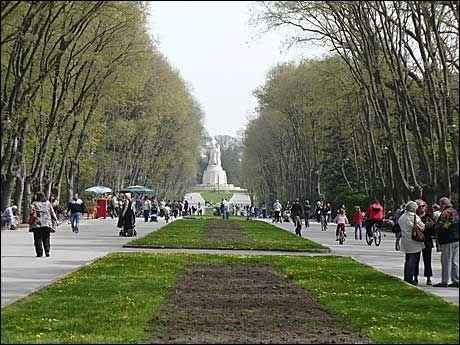 GRØNN OASE: Byparken i Varna er et grønt og frodig sted midt i byen. Foto: PRIVAT