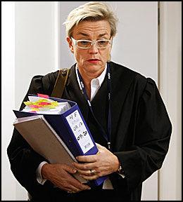 IKKE OVERRASKET: Forsvarer Gunhild Lærum regnet med at aktor ville legge ned en påstand om forvaring. Foto: Mattis Sandblad