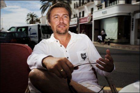 SELGER: Idar Vollvik selger boligen sin i Spania for 60 millioner kroner. Foto: Jørgen Braastad
