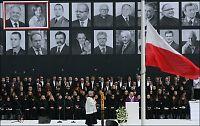 Folkehav mintes ulykkesofre i Polen
