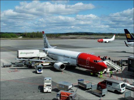 PÅ BAKKEN: Norwegian har hatt en lang liste kanselleringer på grunn av den vulkanske asken i luftrommet. Foto: Arkivfoto: Andrea Gjestvang