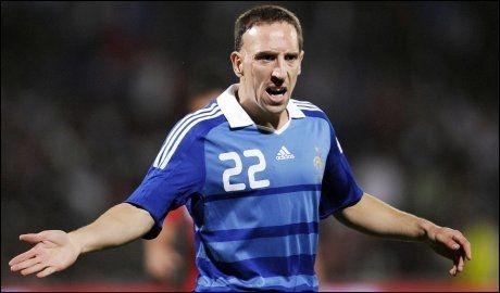 AVHØRT: Bayern Münchens Franck Ribéry skal være innblandet i en prostitusjonsskandale i Frankrike. Foto: AFP