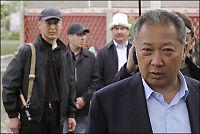 Kirgisistans president trekker seg