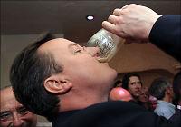 David Cameron feiret med Guinness