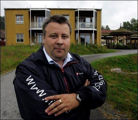 UTFORDRER: Bård Hoksrud utfordrer Terje Søviknes i kampen om en plass i Frps sentralstyre. Foto: Roger Neuman