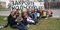 President-protester: - Happy Tsjernobyl day!