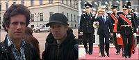 Valgte Medvedev foran skolen