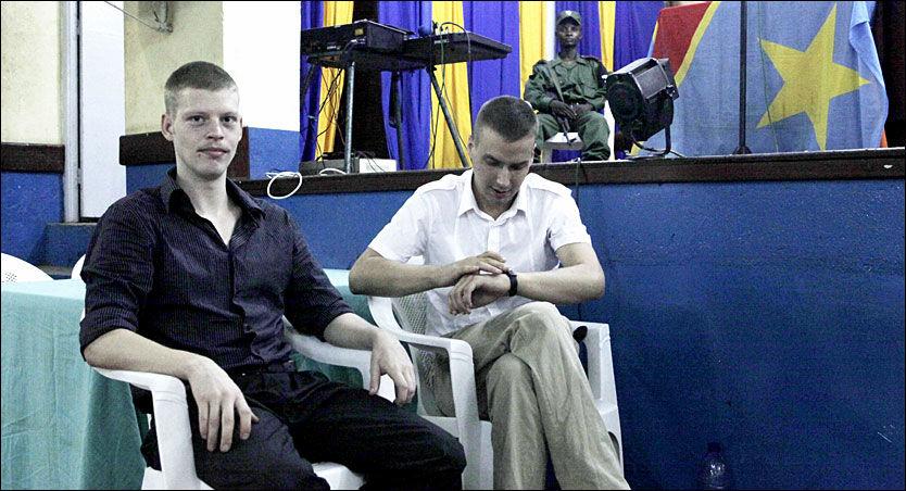 NY RETTSSAK: Dommen mot Joshua French og Tjostolv Moland er opphevet. Nå venter ny rettssak i Kisangani. Foto: Tor-Hartvig Bondø