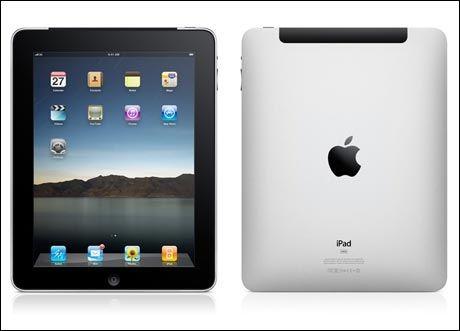 Forskjellen mellom iPad med og uten 3G ligger i detaljene. Den svarte plastkanten finnes på 3G-modellen for at 3G-antennen skal motta signaler bedre. Foto: Apple