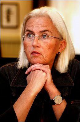 SKUFFET: Tidligere miljøvernminister Helen Bjørnøy (SV). Foto: NILS BJÅLAND