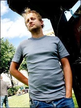 TEGNESERIEEKSPERT: Øyvind Holen (37). Foto: Aftenposten