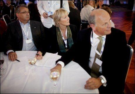 KLEMME: Datalagringsdirektivet har splittet de to profilerte Høyre-politikerne Per-Kristian Foss og Michael Tetzschner. Foto: Scanpix