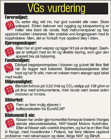 Tabell: VG Grafikk