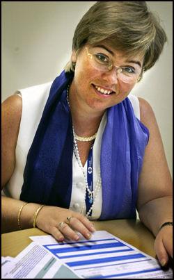 BEGRUNNER: Personvernombud Heidi Thorstensen ved Ullevål universitetssykehus. Foto: Joronn Sagen Engen