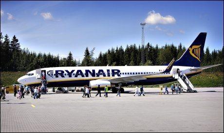 RYANAIR: Ryanair er ilagt bot etter aksekaos. Foto: Espen Braata