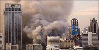 Asias nest største kjøpesenter i flammer