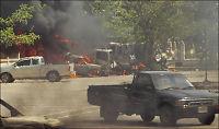 Fullt kaos i flere thailandske byer