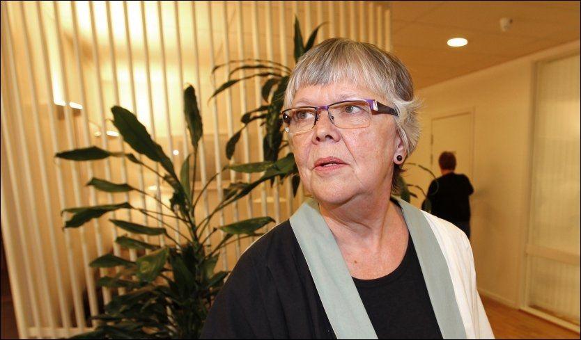 OPTIMISME: Riksmeklingsmann Kari Gjesteby har foreløpig ikke lagt fram noen skisse til løsning, men det skal være forsiktig optimisme i meklingen i statsoppgjøret. Foto: Scanpix