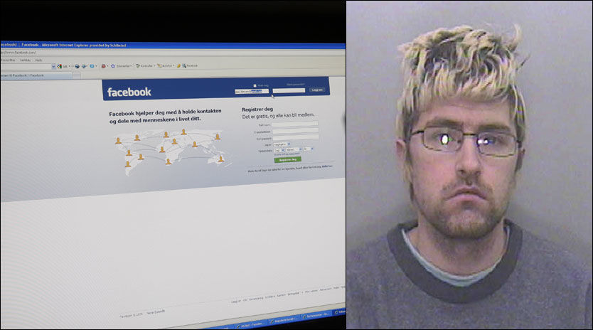 SIKTET: Overgrepstiltalte Michael Williams kom i kontakt med mange av sine ofre på det sosiale nettstedet Facebook. Foto: Scanpix/Devon & Cornwall Constabulary