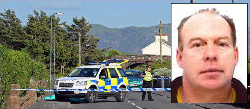 - VAR ENGSTELIG: Derrick Bird (52) skal ha vært engstelig de siste årene. Onsdag skjøt og drepte han 12 fra bilen sin. Her blir et av ofrene i Seascale tatt hånd om. Foto: AFP