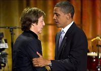 Macca hyllet presidentfruen med Beatles-klassiker