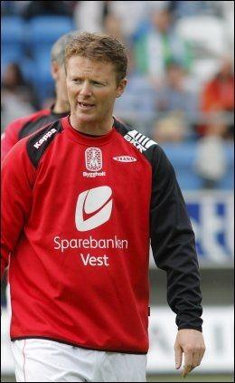 FORTSETTER: Rune Skarsfjord leder Brann ut sesongen. Foto: Scanpix