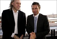 I kveld feirer Geldof med Stordalen