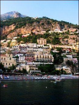 I OMRÅDET: Forfatteren John Steinbecks favoritt, Positano. Foto: SVEN ARNE BUGGELAND