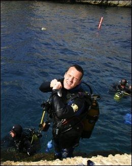 DYPDYKK: Malta har steder som regnes blant verdens beste for dykking. Foto: EGIL SVENDSBY