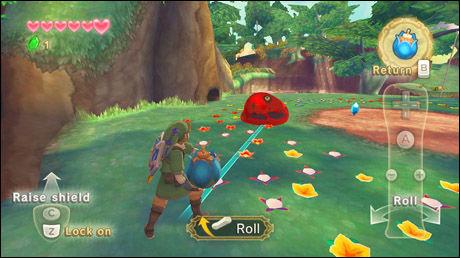 NYE LINK: Slik ser Link ut i «The Legend of Zelda: Skyward Sword». Foto: NINTENDO