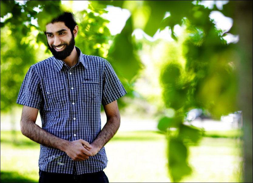 SNAKKER UT: Islam Nets leder Fahad Qureshi har snudd, og velger nå å gi VG et intervju etter først å ha nektet i lang tid. Foto: MARKUS AARSTAD