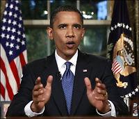 Oljeutslippet svekker troen på Obama