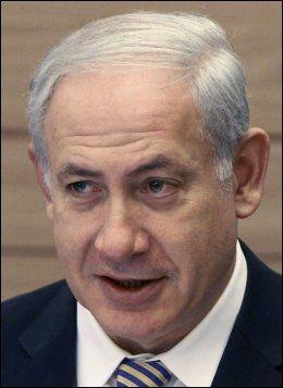 - ARVET BLOKADEN: Israels statsmininster Benjamin Netanyahu mener han arvet Ghaza-blokaden fra den forrige regjeringen. Foto: AP