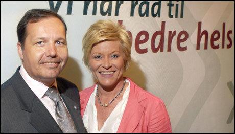 KRITIKK: Per Arne Olsen får kraftig kritikk fra jussnestor Lucy Smith. Partiformann Siv Jensen er på ferie, og kan ikke kommentere kritikken. Foto: Aftenposten