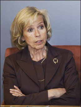 STATSRÅD: Helseminister Anne-Grethe Strøm-Etichsen. Foto: Frode Hansen, VG