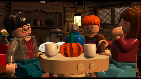 KLOSSETE: Alt i «Lego Harry Potter» er bygget i Lego. Foto: TRAVELLERS TALES/WARNER BROS.